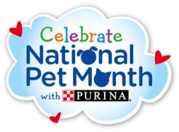 Celebrate National Pet Month with Purina